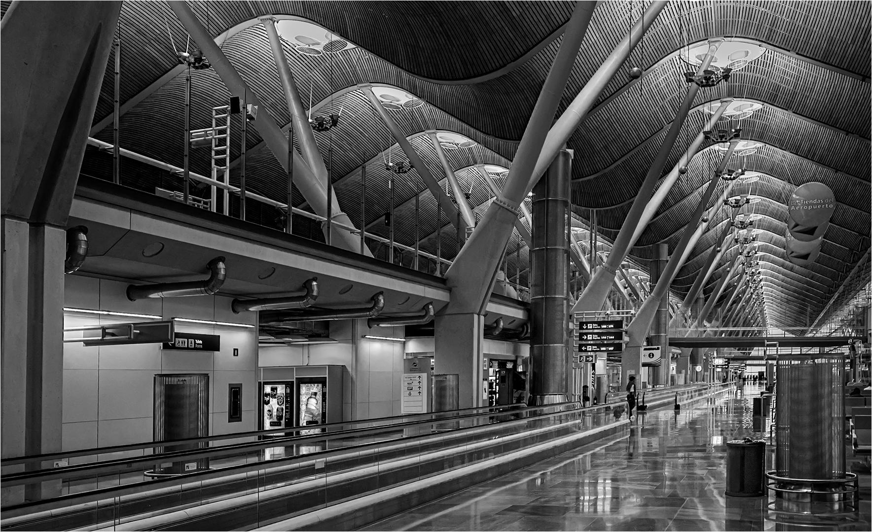 Madrid airport – Willie Labuschagne