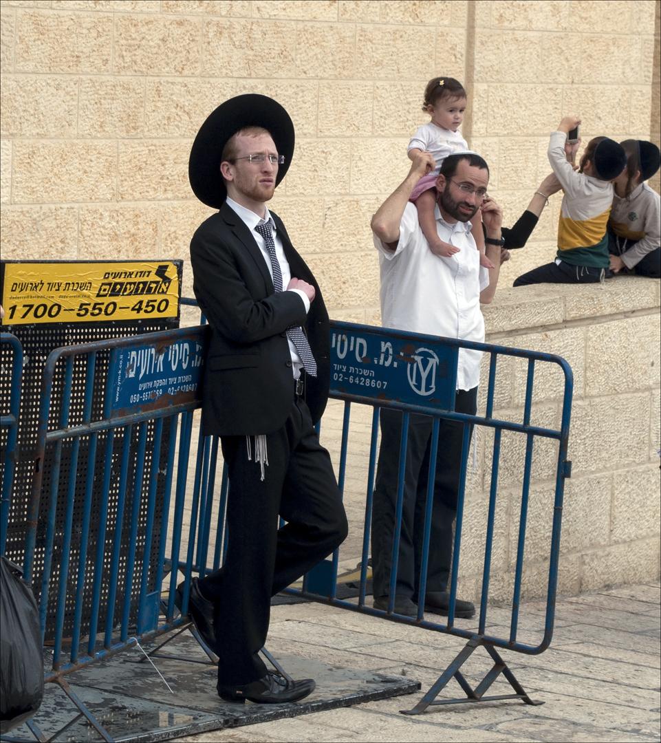 Jong Joodse man